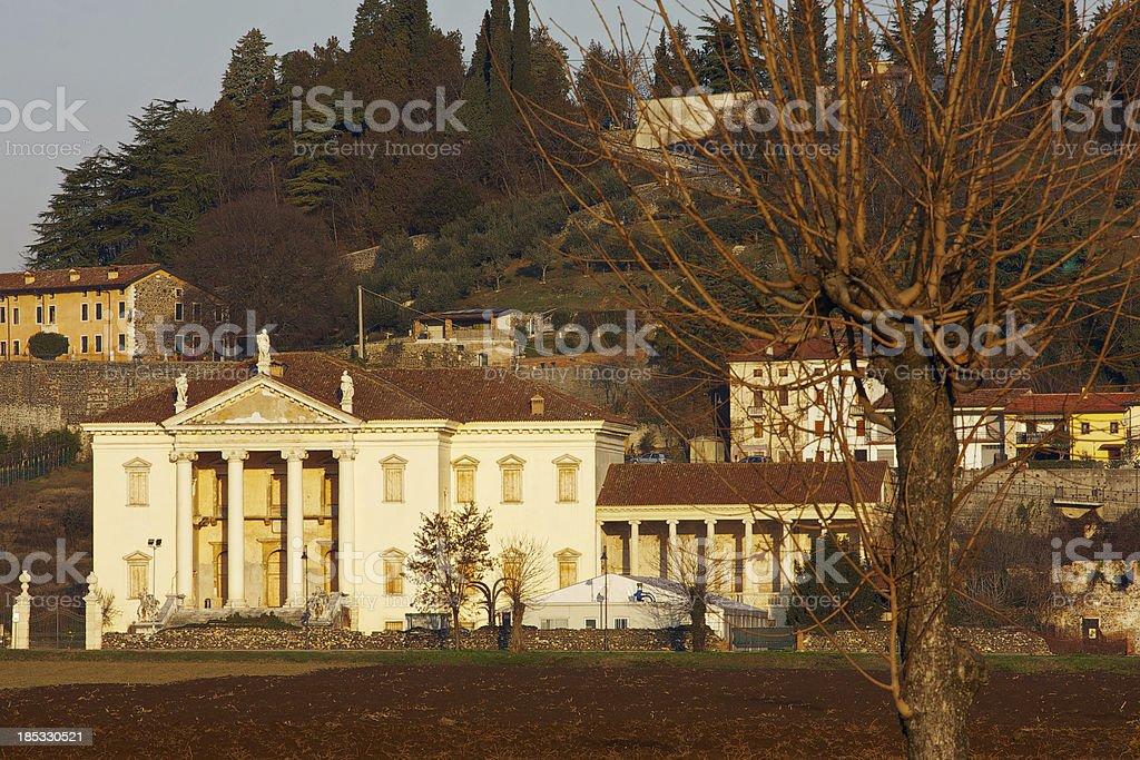 Villa Da Porto - Montorso Vicentino (Vicenza, Veneto, Italy) royalty-free stock photo