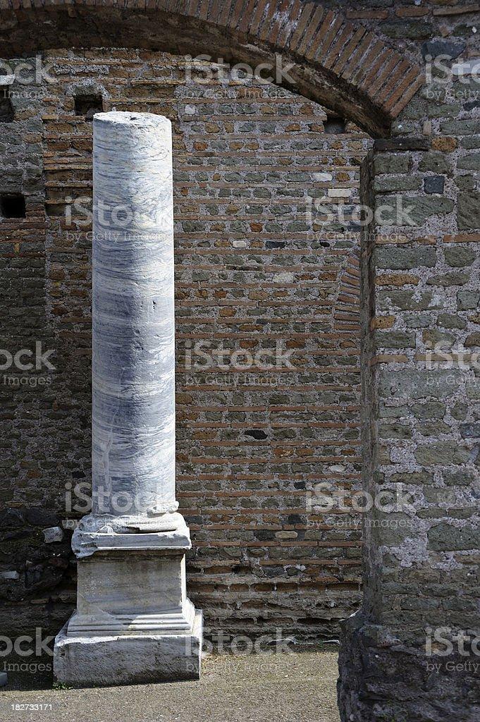 Villa dei Quintili royalty-free stock photo