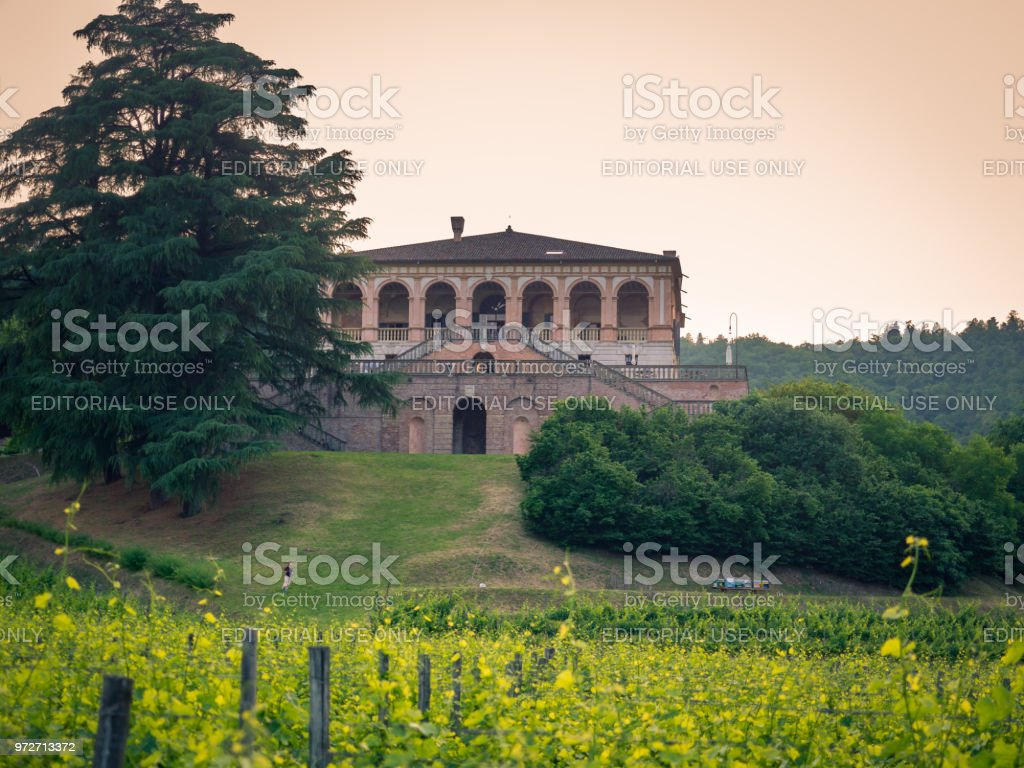 Villa dei Vescovi is a Venetian Renaissance-style villa. Currently it is a museum open to the public. stock photo
