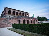 Torreglia, Italy - May 26, 2018: Villa dei Vescovi is a Venetian Renaissance-style villa. Currently it is a museum open to the public.