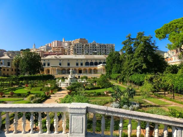 Villa del Principe und ihre Gärten in Genua, Italien – Foto