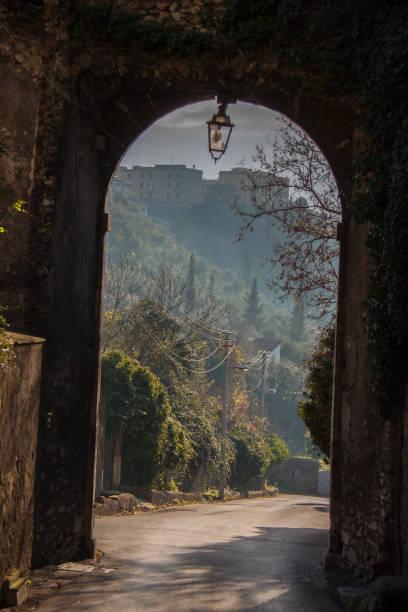 villa d'este in tivoli, italy - batalina italy стоковые фото и изображения