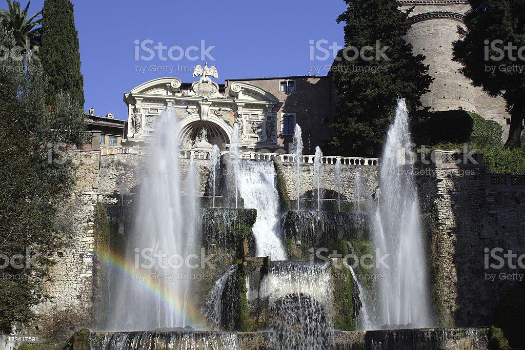 Villa d'Este royalty-free stock photo
