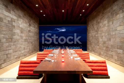 dining room luxury villa paresa phuket thailand