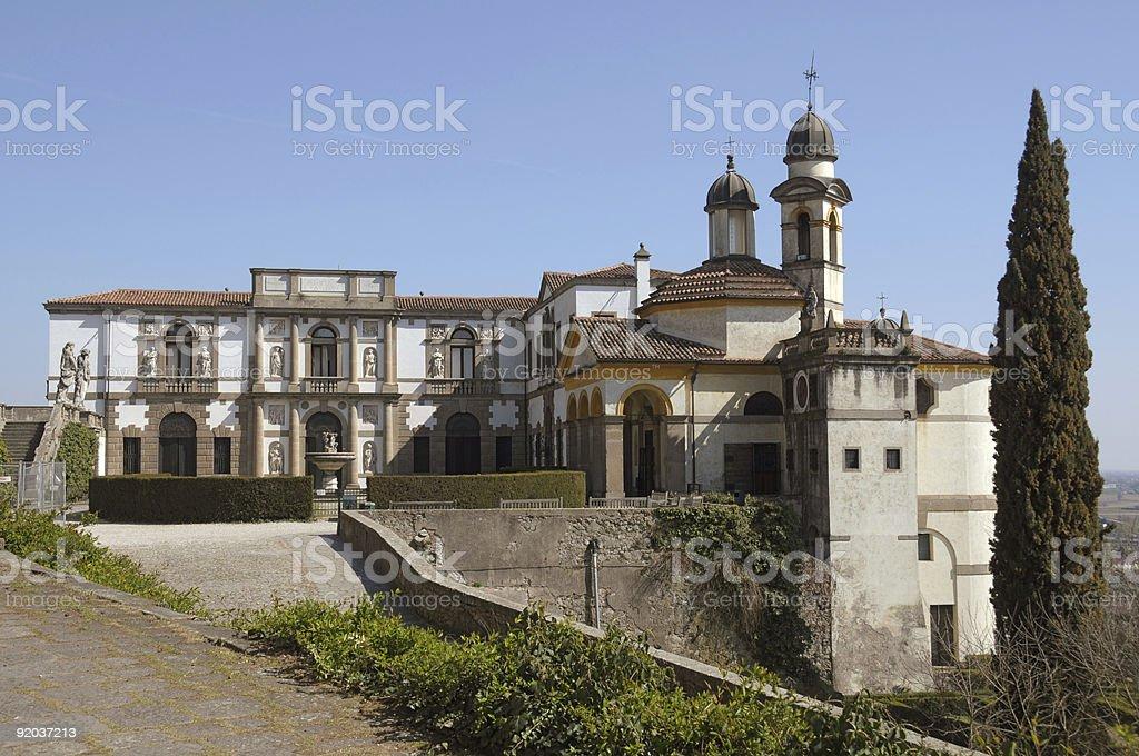 Villa Duodo royalty-free stock photo