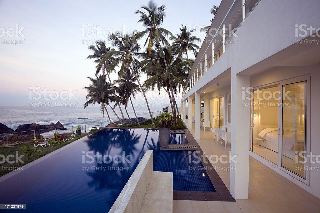 villa hotel sri lanka royalty-free stock photo