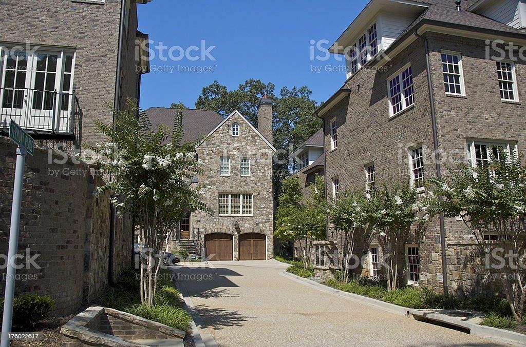 villa in Atlanta Buckhead stock photo