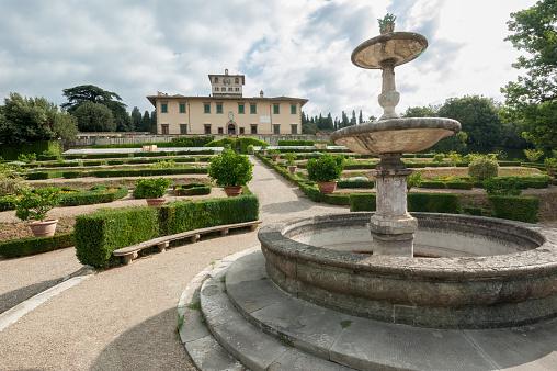 Villa La Petraia, once residence of Medici family