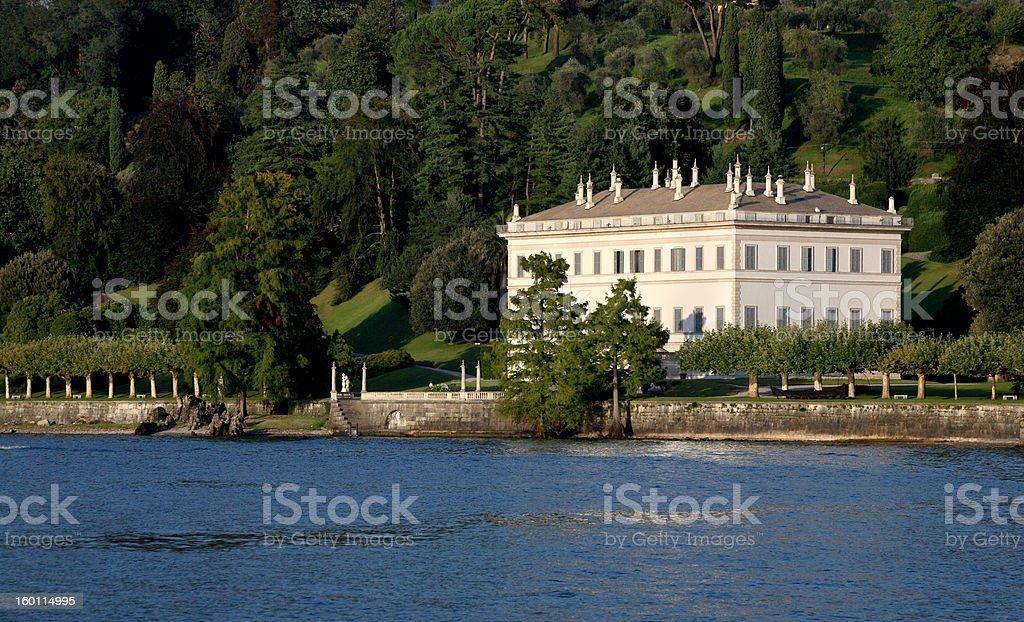 villa melzi in bellagio stock photo