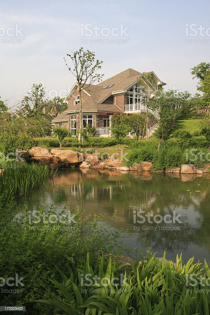 Villa royalty-free stock photo