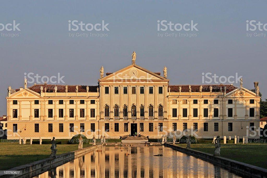 Villa Pisani (La Nazionale) royalty-free stock photo