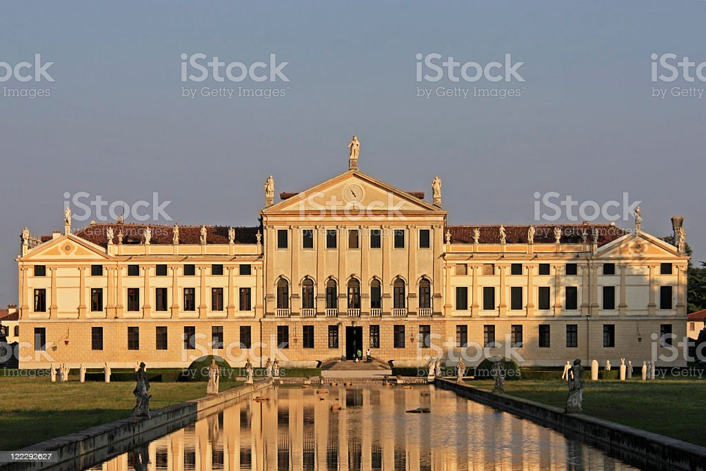 Villa Pisani (La Nazionale) stock photo