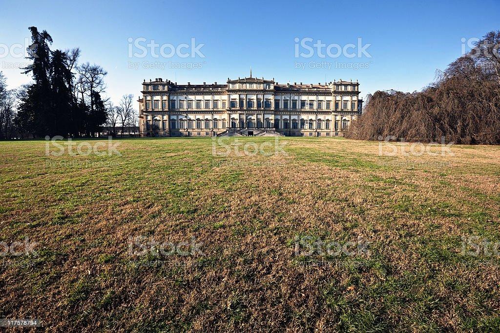 Villa Reale. Monza. Color Image stock photo