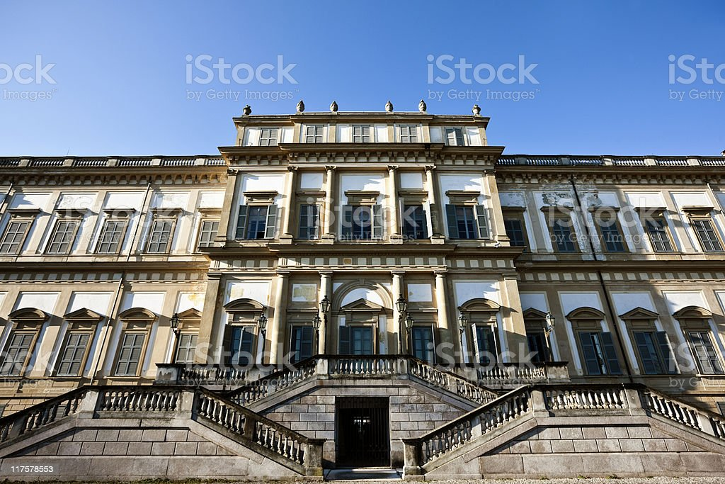 Villa Reale stock photo