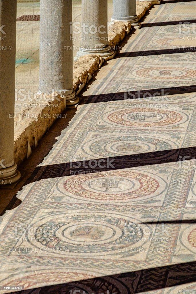 Villa Romana del Casale, Piazza Armerina (Sicilia, Italia) - Foto de stock de Anticuario - Anticuado libre de derechos