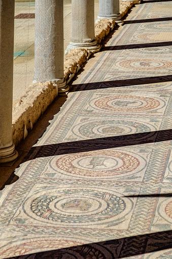 Villa Romana Del Casale Piazza Armerina — стоковые фотографии и другие картинки Антиквариат