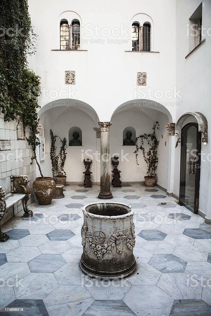 Villa, San, Michele, Anacapri, Capri, Island, Campania, Italy royalty-free stock photo
