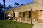 istock Villa Walkway 168367508