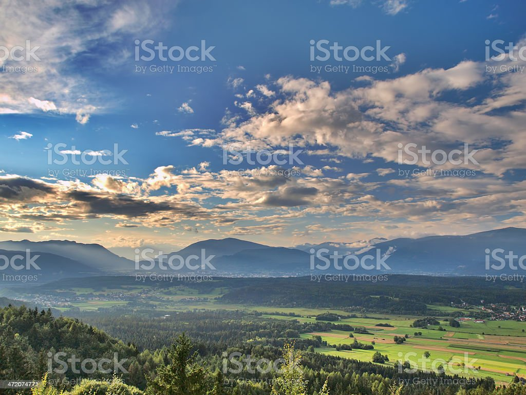 VIllach valley - Royalty-free Austria Stock Photo