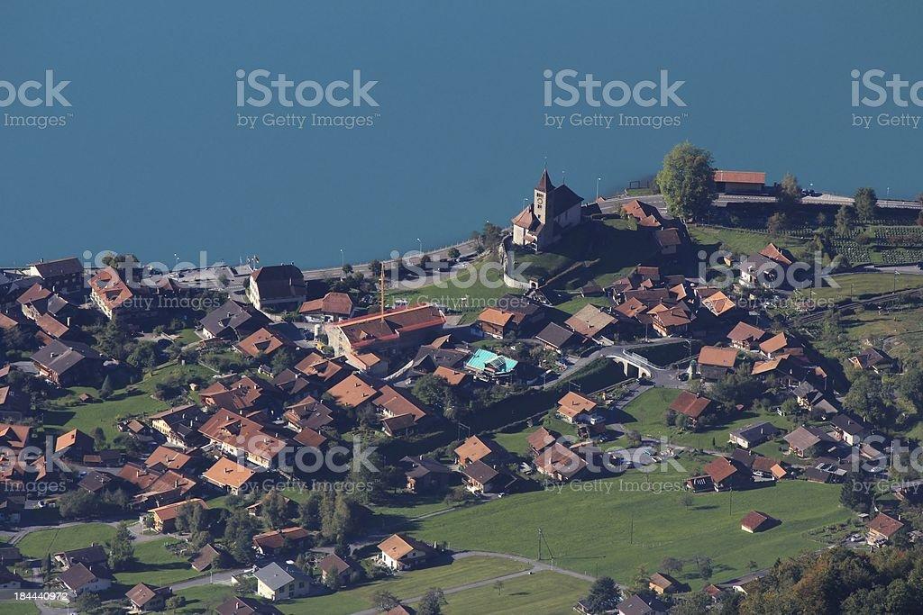 Village Brienz royalty-free stock photo