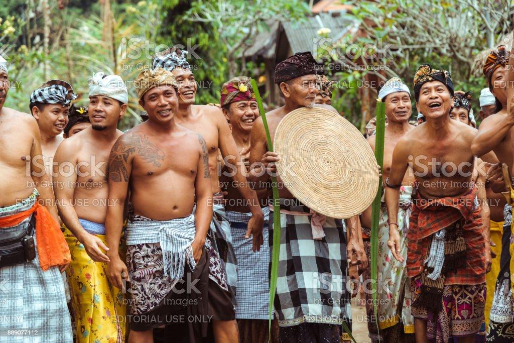 Village Celebration Bali Indonesia Stock Photo Download