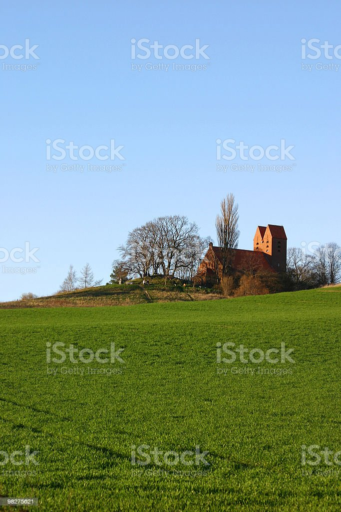 Village Church royalty-free stock photo