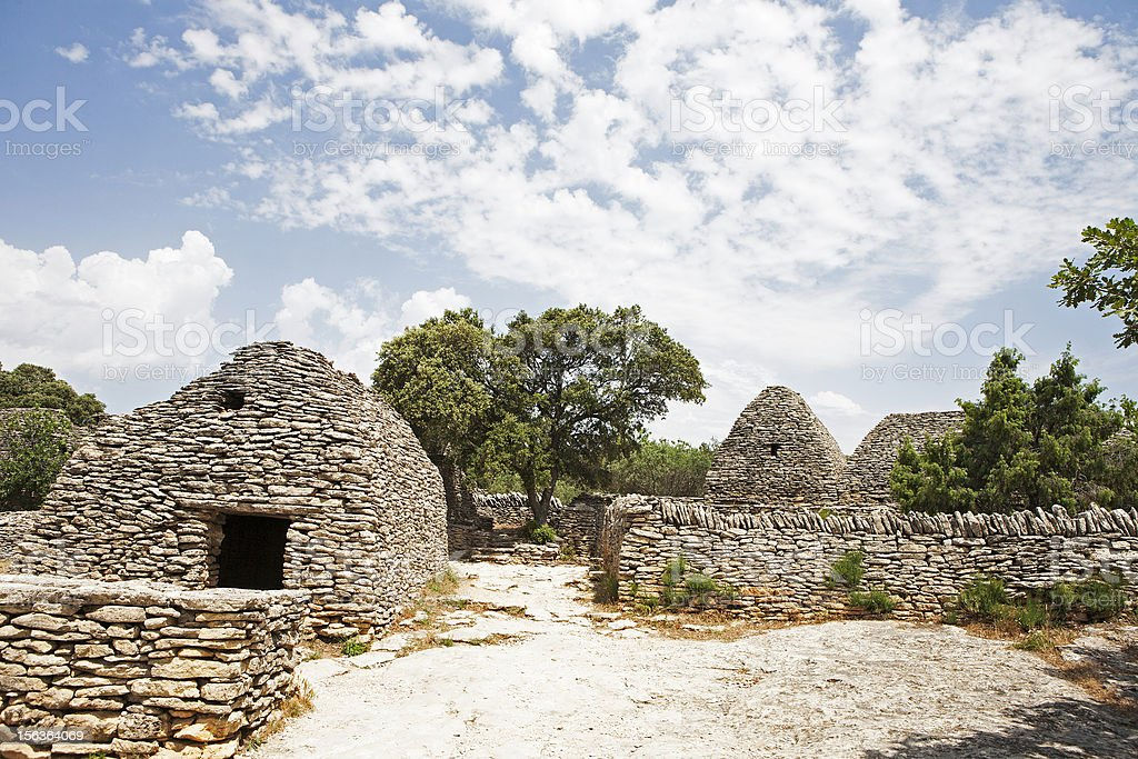 Village des Bories royalty-free stock photo