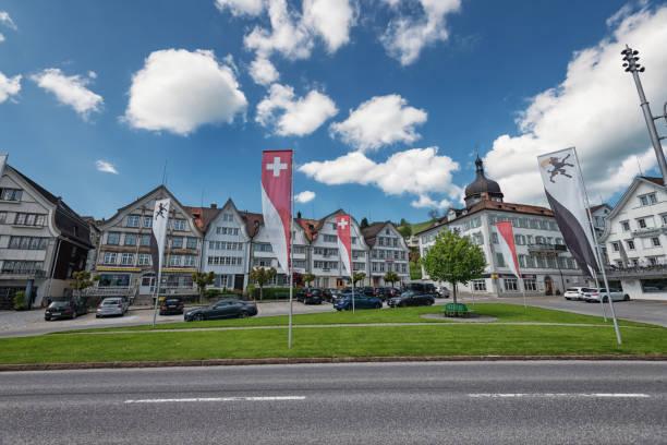 Village Gais, Appenzellerland, Switzerland stock photo