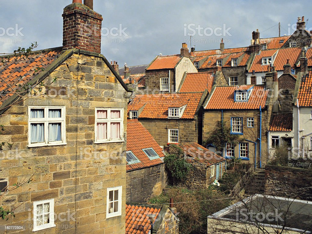 Village Homes royalty-free stock photo