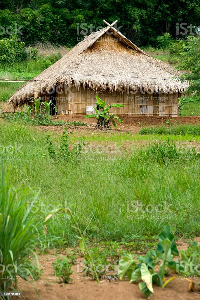 Village house 01 royalty-free stock photo