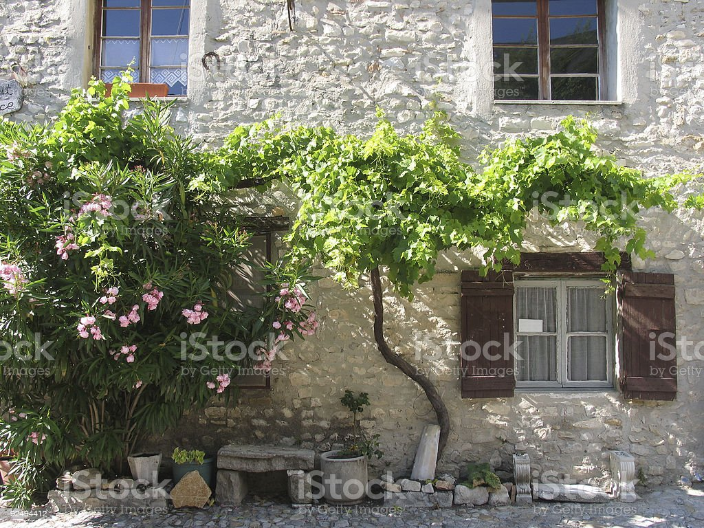 Village house royalty-free stock photo