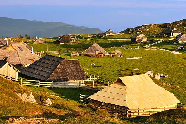 Village in Alpen – Foto