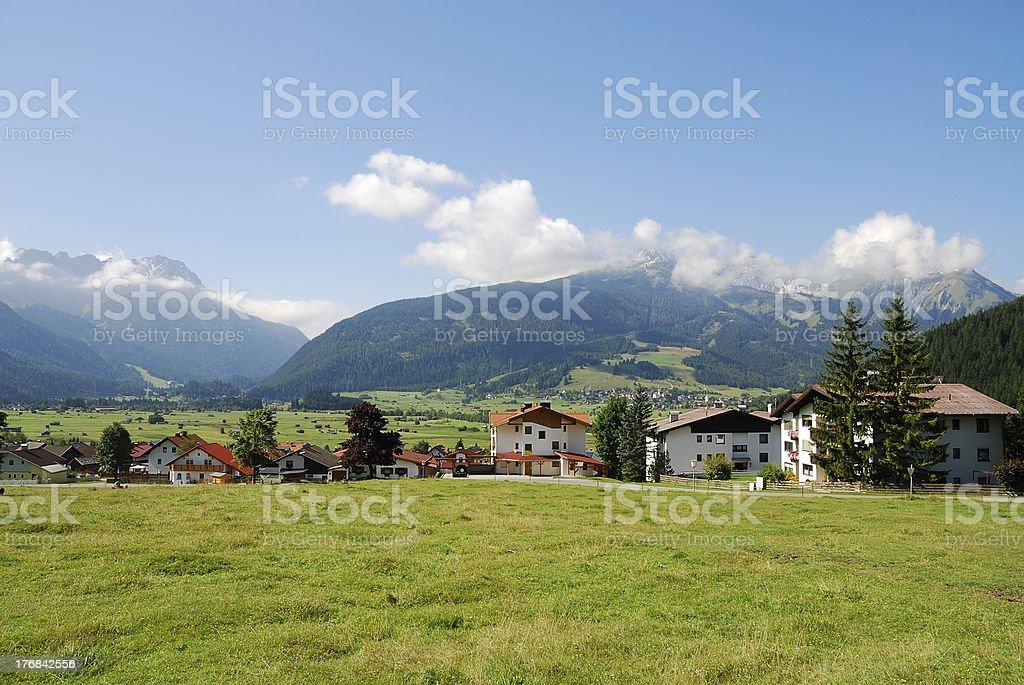 Village in Austria royalty-free stock photo