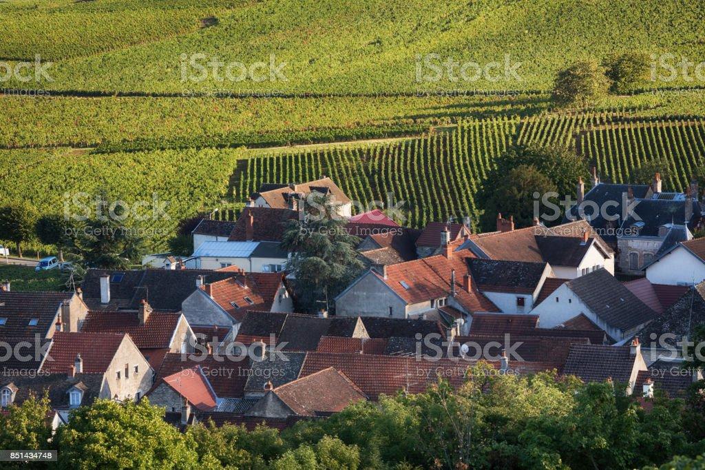 Village en Bourgogne, France - Photo