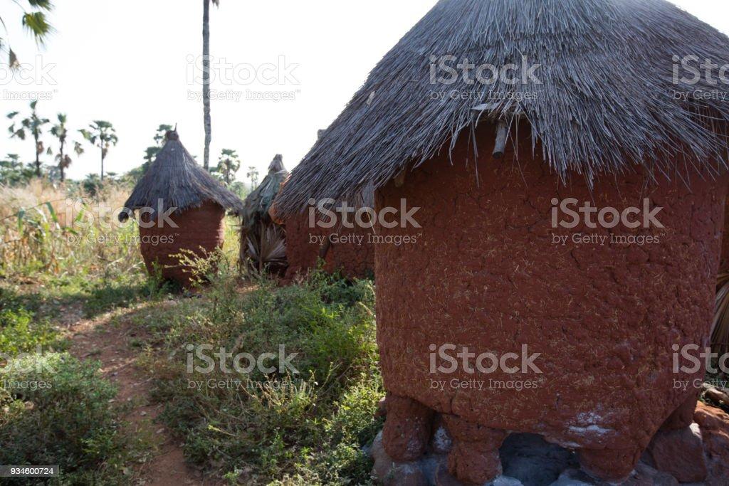 Village in Burkina Faso stock photo