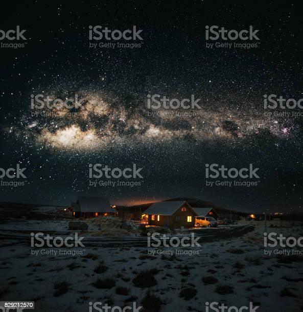 Village in iceland under the milky way galaxy picture id829212570?b=1&k=6&m=829212570&s=612x612&h=htplush9dzejxohizderbj80be0pw ga8v9bbbxuba8=