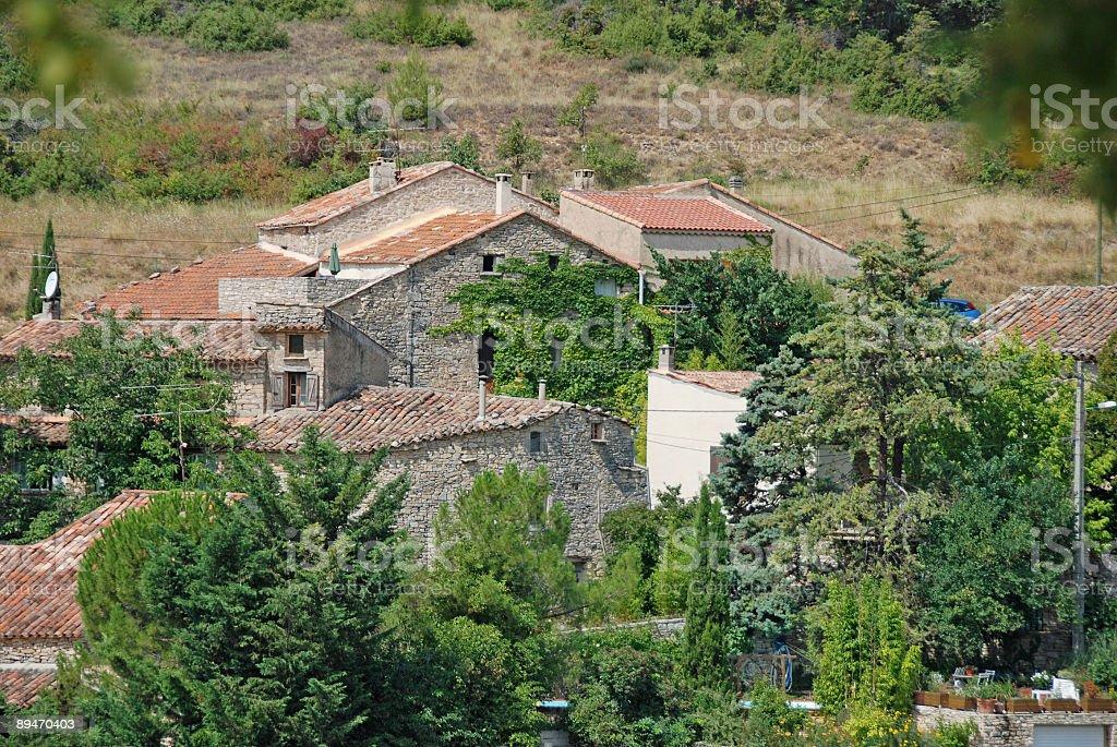 village en Provence, Francia foto de stock libre de derechos