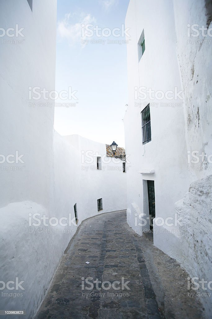 village in Spain royalty-free stock photo