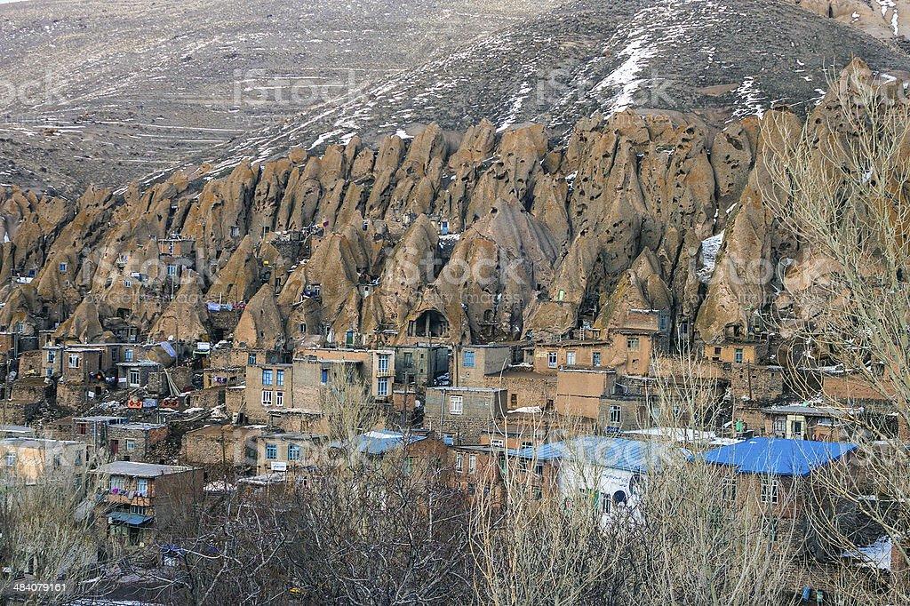 Village Kandovan stock photo