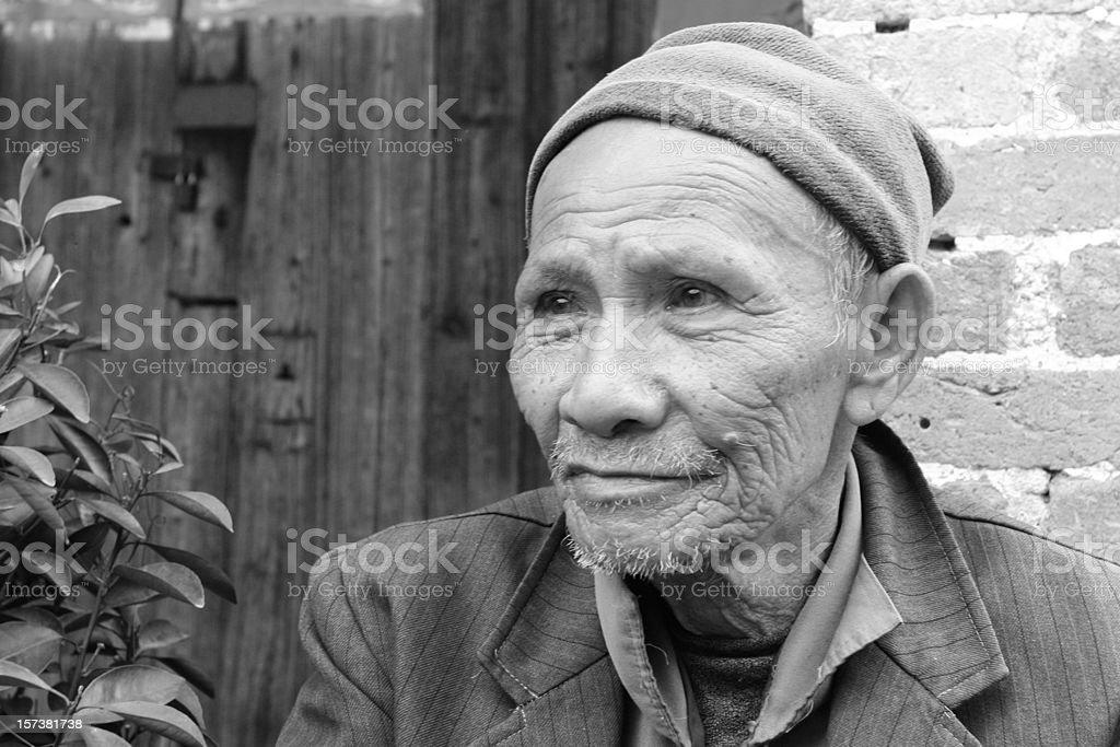 Village Man royalty-free stock photo