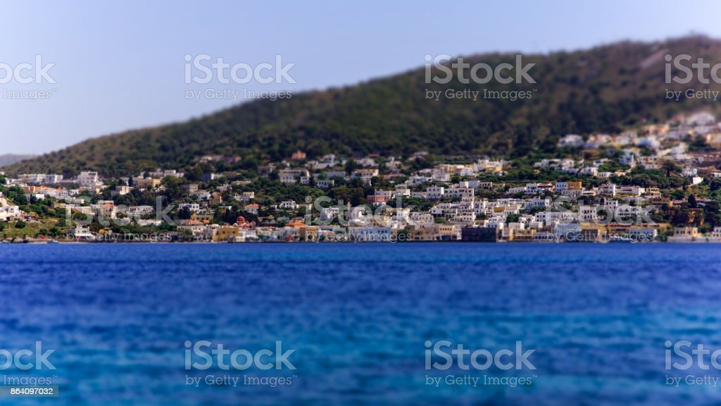 Village d'Aghia Marina royalty-free stock photo