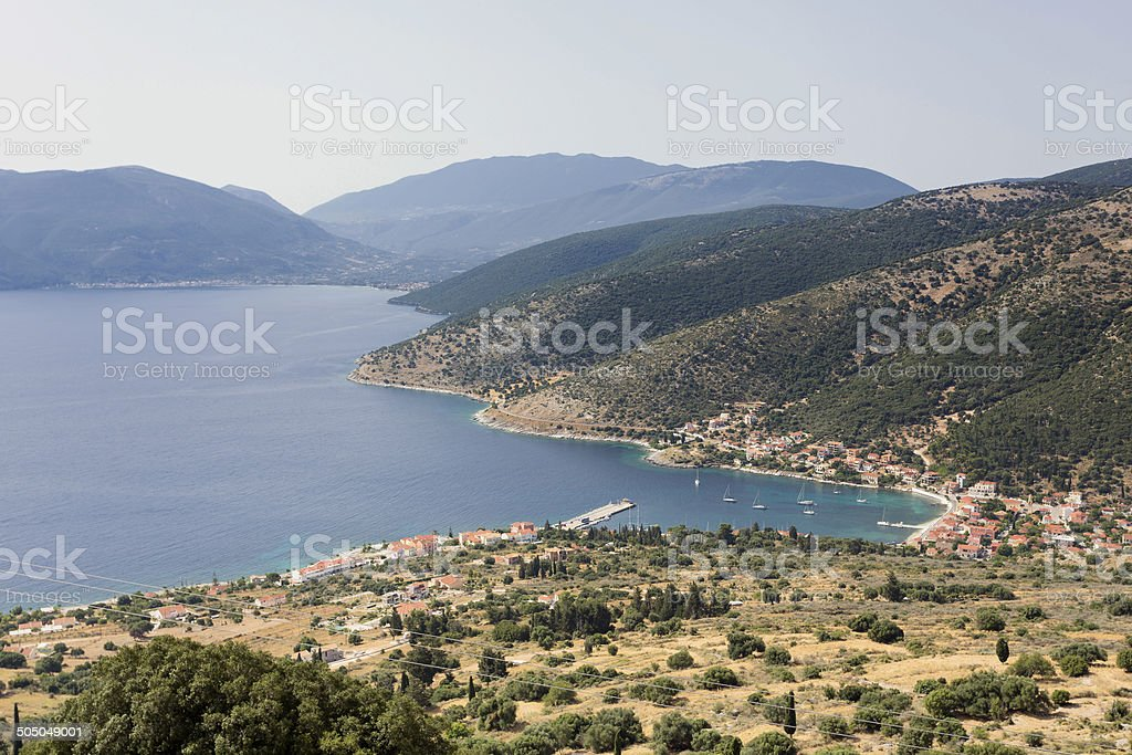 Village of Agia Efimia royalty-free stock photo