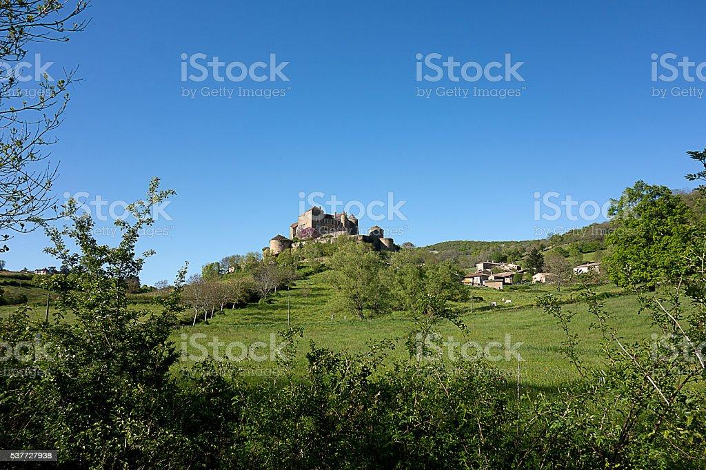 Village of Berzé le Chatel, Southe Burgundy France stock photo