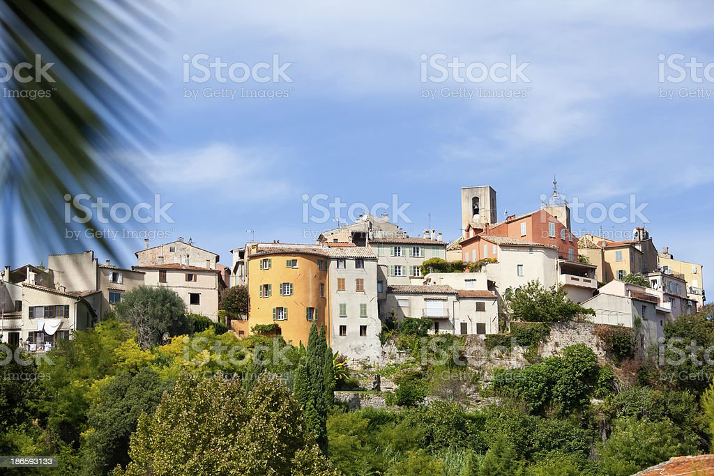 Village of Biot in Provence stock photo