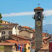 The village of Cademario in the Ticino canton of Switzerland.