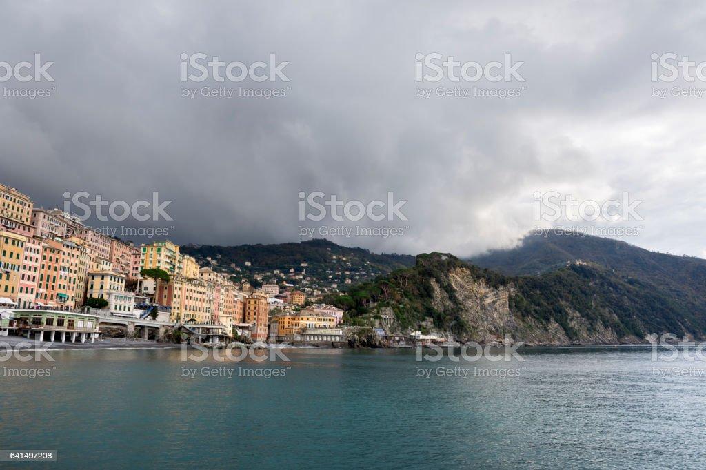 Village of Camogli stock photo