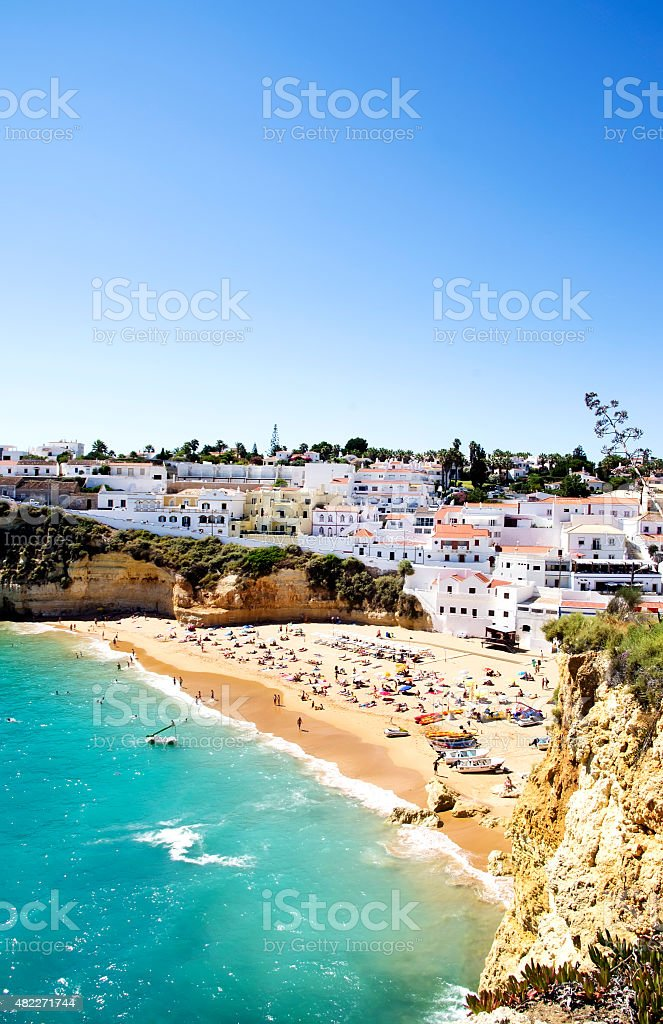 Village of Carvoeiro,Algarve, Portugal stock photo