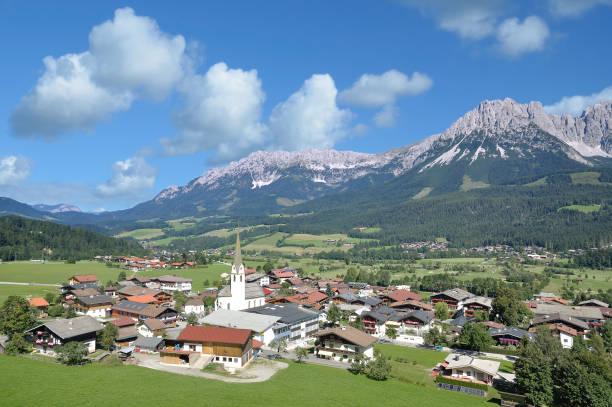 Dorf Ellmau,Tirol,Österreich – Foto
