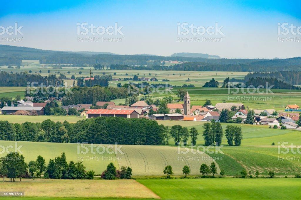 Dorf der Gasterer in Niederösterreich Landschaft – Foto