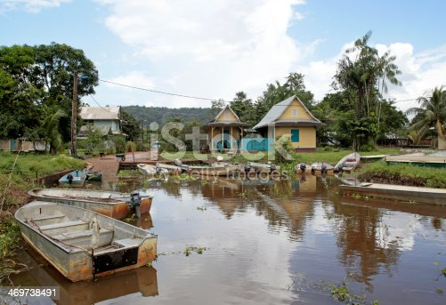 istock Village of Kaw, Kaw-Roura National Nature Reserve, French Guina 469738491